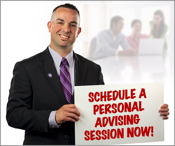 Schedule a personal advising session now